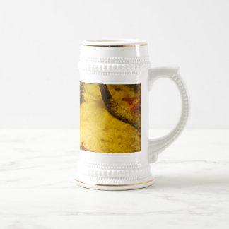 Anemone And Starfish Beer Stein