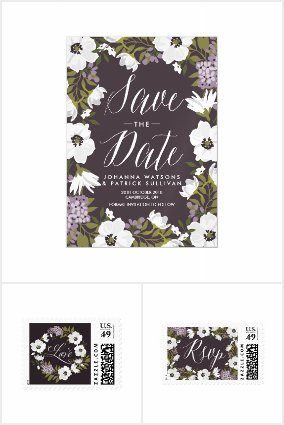 Anemone Blooms Wedding Collection