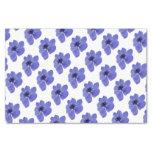 Anemone Blue Flower Tissue Paper
