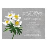 Anemone Bridal Shower Invitations Custom Invites