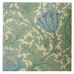 'Anemone' design (textile) Ceramic Tile