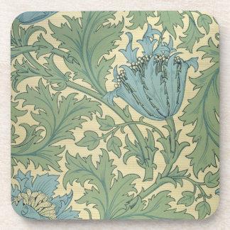'Anemone' design (textile) Drink Coaster