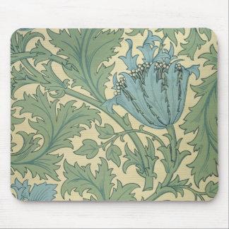 'Anemone' design (textile) Mouse Pad