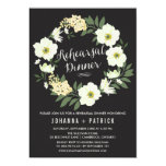 Anemone Floral Wreath Rehearsal Dinner Invitation