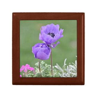 Anemone flower photo gift box