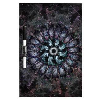Anemone Fractal Art Design Dry-Erase Boards