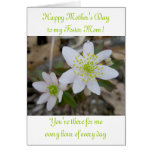 Anemone Happy Mother's Day Foster Mother Greeting Card