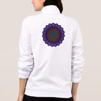 Anemone Kaleidsocope Mandala Printed Jacket
