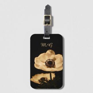 Anemone Luggage Tag