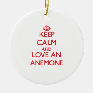 Anemone Christmas Ornament