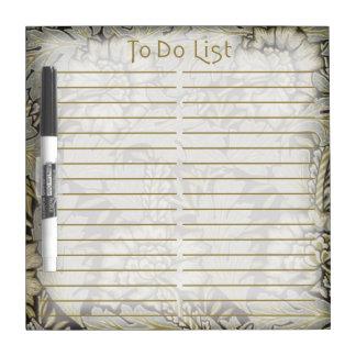 Anemone To Do List - 1876 Morris Eraser Board - 3 Dry Erase Whiteboards