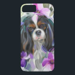"&#39;Anemone&#39; Tricolor cavalier dog art phone case<br><div class=""desc"">Brighten your phone or tablet with this floral tricolor cavalier king charles spaniel art phone case. In all options available.</div>"