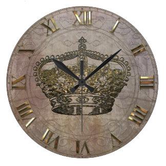 Anémoneathe  Crown Wall Clocks