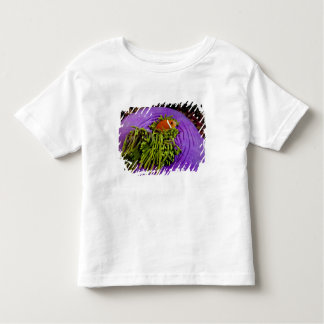 Anemonefish and large anemone toddler t-shirt