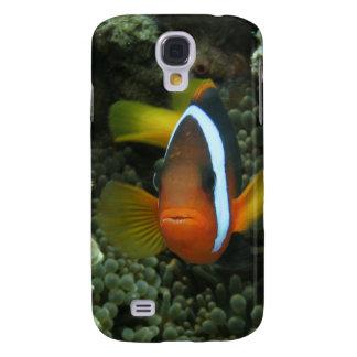 Anemonefish negro (melanopus del Amphiprion) adent Carcasa Para Galaxy S4