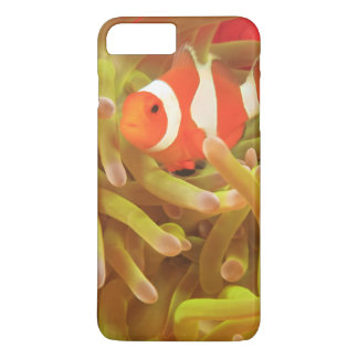 anemonefish on giant indo pacific sea anemone, iPhone 7 plus case