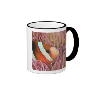 anemonefish, Scuba Diving at Tukang 2 Ringer Mug