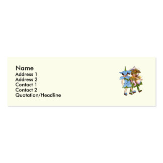 Anemones and Bluets Business Card
