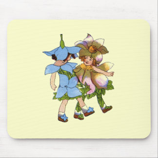 Anemones and Bluets Mouse Pad