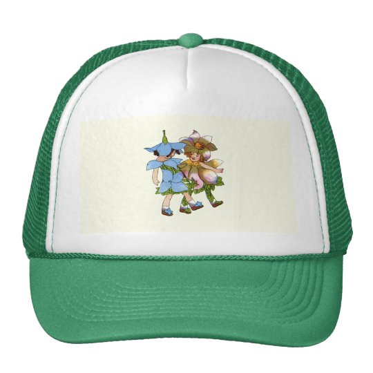 Anemones and Bluets Trucker Hat
