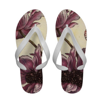 Anemones Flip Flops