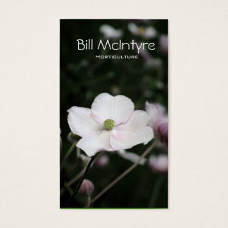 Anemones garden landscape business card