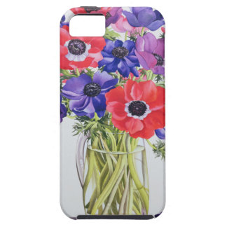 Anemones in a glass jug 2007 iPhone SE/5/5s case