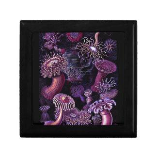 Anemones in Dark Purple Keepsake Box