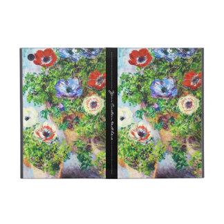 Anemones in Pot Claude Monet flower paint iPad Mini Case