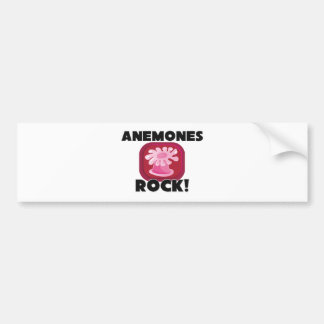 Anemones Rock Car Bumper Sticker