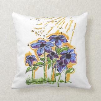 Anemoni Throw Pillow