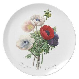 Anemonies Dinner Plate