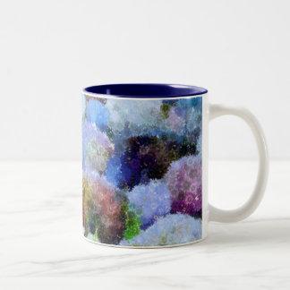 Anemonies Two-Tone Coffee Mug