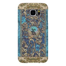 Anesline Dayze Victorian Lacey Monogram Samsung Galaxy S6 Cases