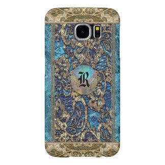 Anesline Dayze Victorian Lacey Monogram Samsung Galaxy S6 Case