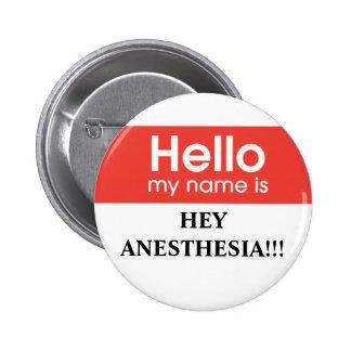 Anesthesia Pinback Button