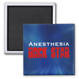 Anesthesia RockStar 2 Inch Square Magnet