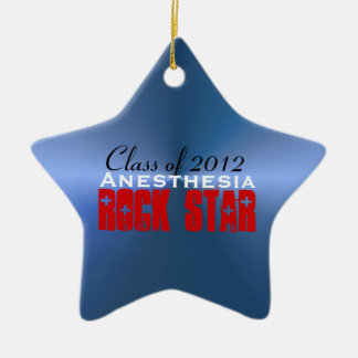 Anesthesia RockStar Ceramic Ornament