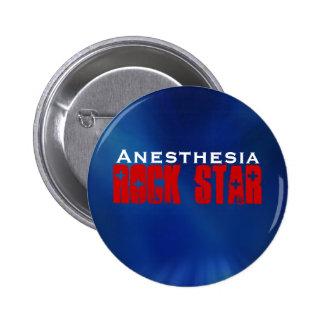 Anesthesia RockStar Pinback Button