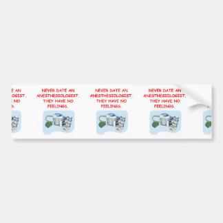 anesthesiologist bumper sticker
