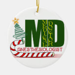 ANESTHESIOLOGIST CHRISTMAS ORNAMENT MD DOCTOR