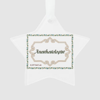 Anesthesiologist - Classy Ornament
