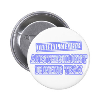 Anesthesiologist Drinking Team Buttons