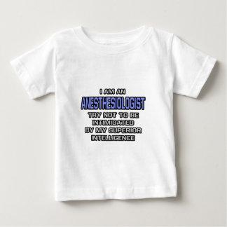 Anesthesiologist Joke ... Superior Intelligence Tee Shirts