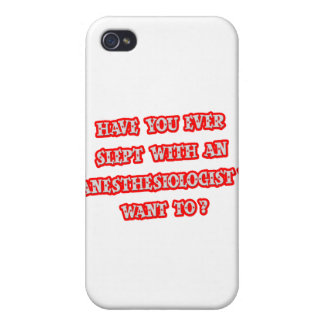 Anesthesiologist Pick-Up Line Cover For iPhone 4