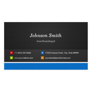 Anesthesiologist Professional Customizable Double-Sided Standard Business Cards (Pack Of 100)