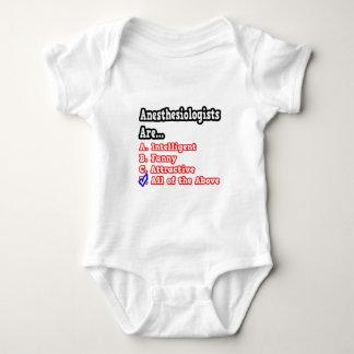Anesthesiologist Quiz...Joke Baby Bodysuit