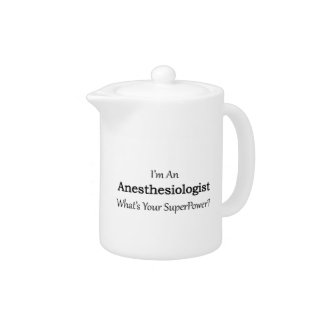 Anesthesiologist Teapot