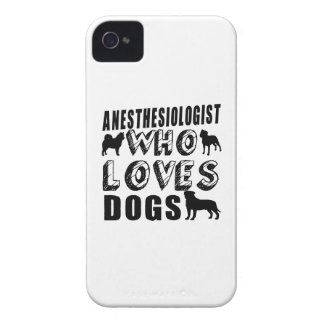 anesthesiologist Who Loves Dogs iPhone 4 Case-Mate Case