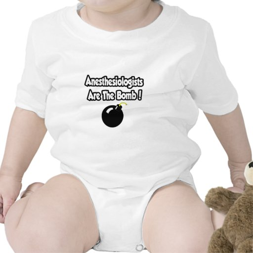 Anesthesiologists Are The Bomb! Tshirts